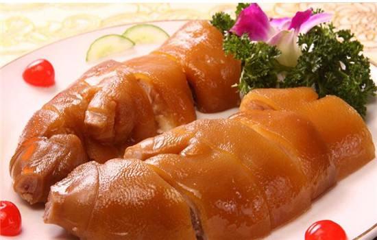 湖南卤菜,水晶猪蹄